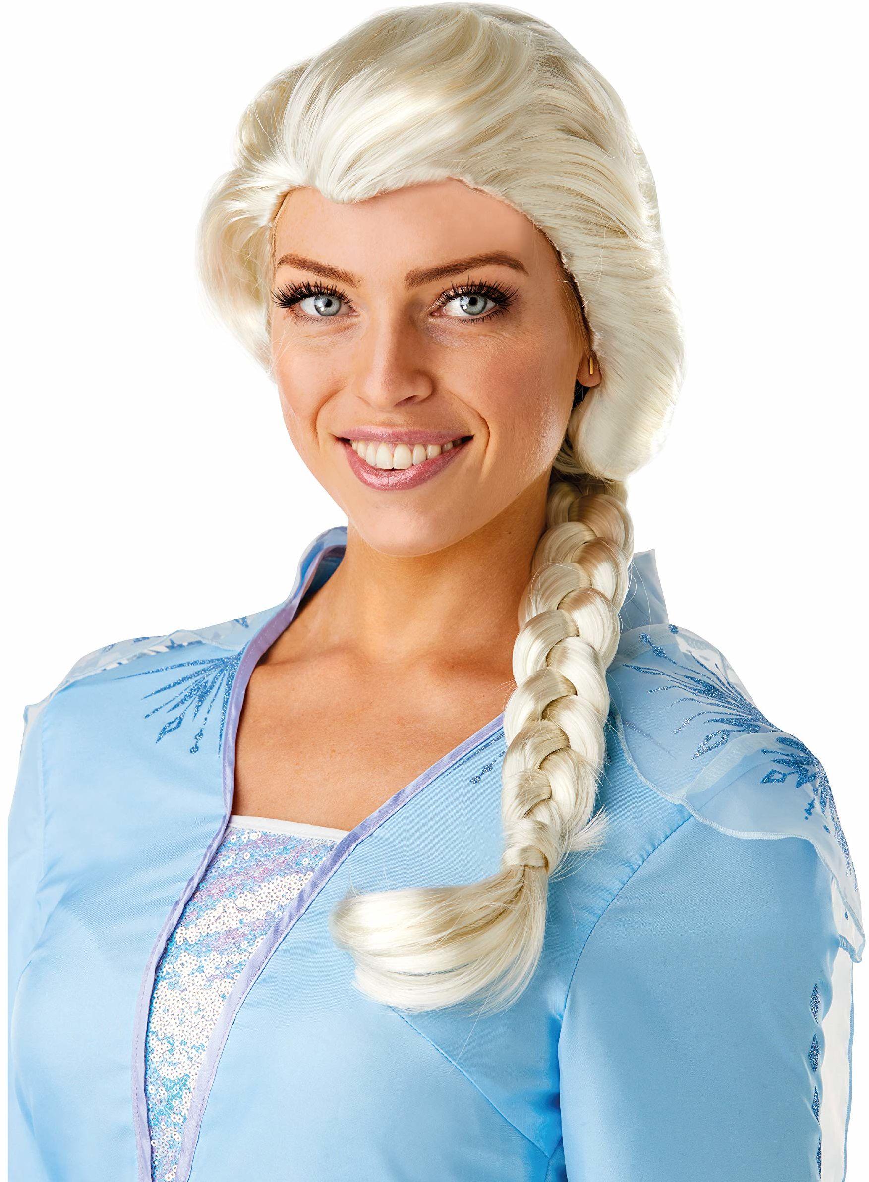 Rubie''s Oficjalna peruka Disney Frozen 2, Elsa, akcesoria dla kobiet, jeden rozmiar
