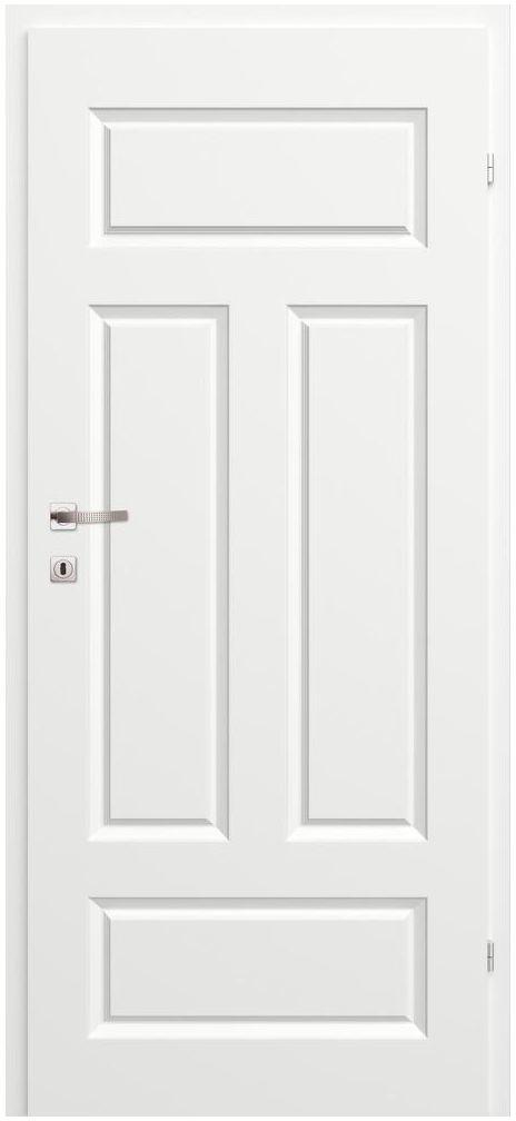 Skrzydło drzwiowe pełne MORANO I Białe 70 Prawe CLASSEN