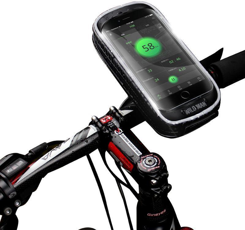 """Sakwa rowerowa Wildman Hardpouch Bike Mount """"XXS"""" Black (WLDM-BIKE XXS BLK)"""