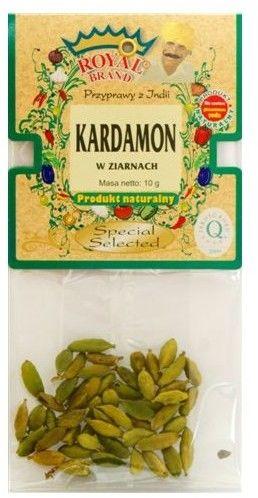 Kardamon w ziarnach selekcjonowany 10 g