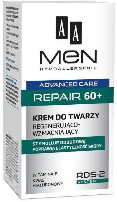 AA AA Men Adventure Care Krem do twarzy Repair 60+ 50ml