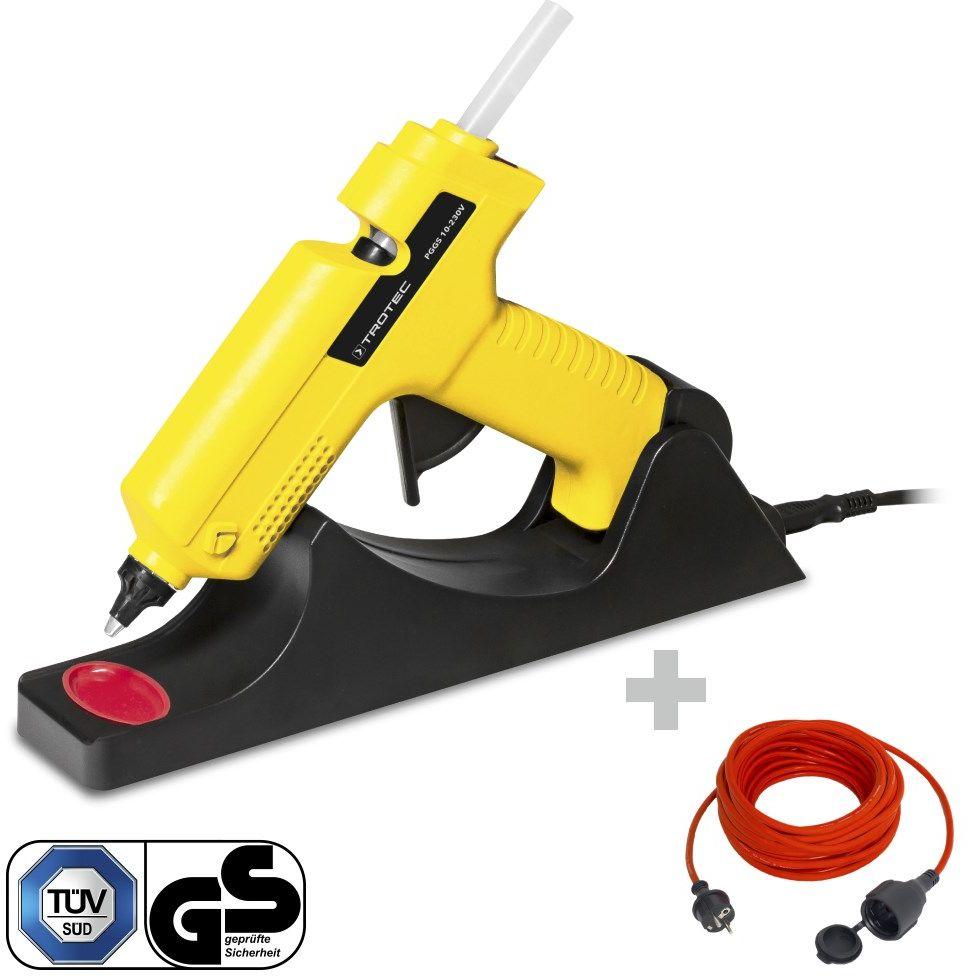 Pistolet do klejenia na gorąco PGGS 10 230V + Przedłużacz jakościowy 15 m / 230 V / 1,5 mm