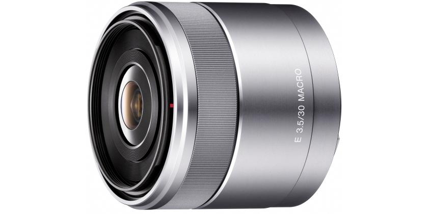 Sony E 30mm F3.5 Macro - obiektyw stałoogniskowy, SEL30M35 Sony SEL30M35