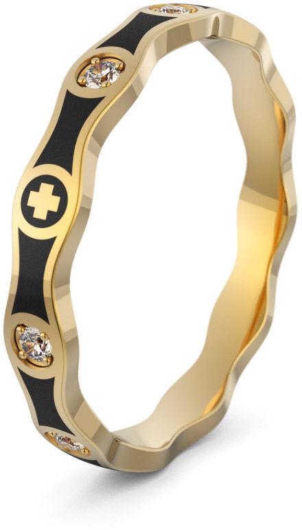 Pierścionek złoty różaniec - Au-1094