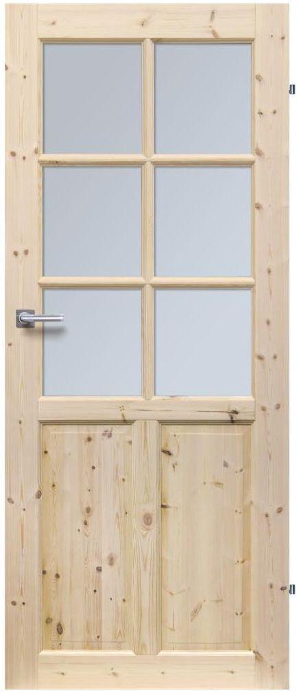 Skrzydło drzwiowe drewniane LONDYN LUX 70 Prawe RADEX