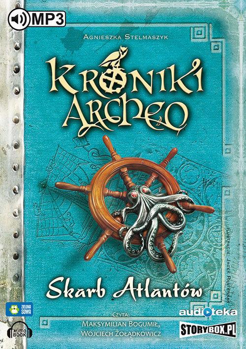 Skarb Atlantów 2 - Kroniki Archeo ZAKŁADKA DO KSIĄŻEK GRATIS DO KAŻDEGO ZAMÓWIENIA