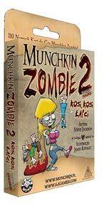 Munchkin Zombie 2 Kosi, Kosi Łapci ZAKŁADKA DO KSIĄŻEK GRATIS DO KAŻDEGO ZAMÓWIENIA