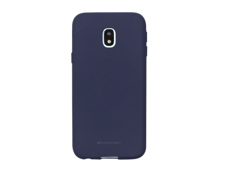 Samsung Galaxy J3 (2017) SM-J330 - etui na telefon Mercury Goospery Soft Feeling - granatowy