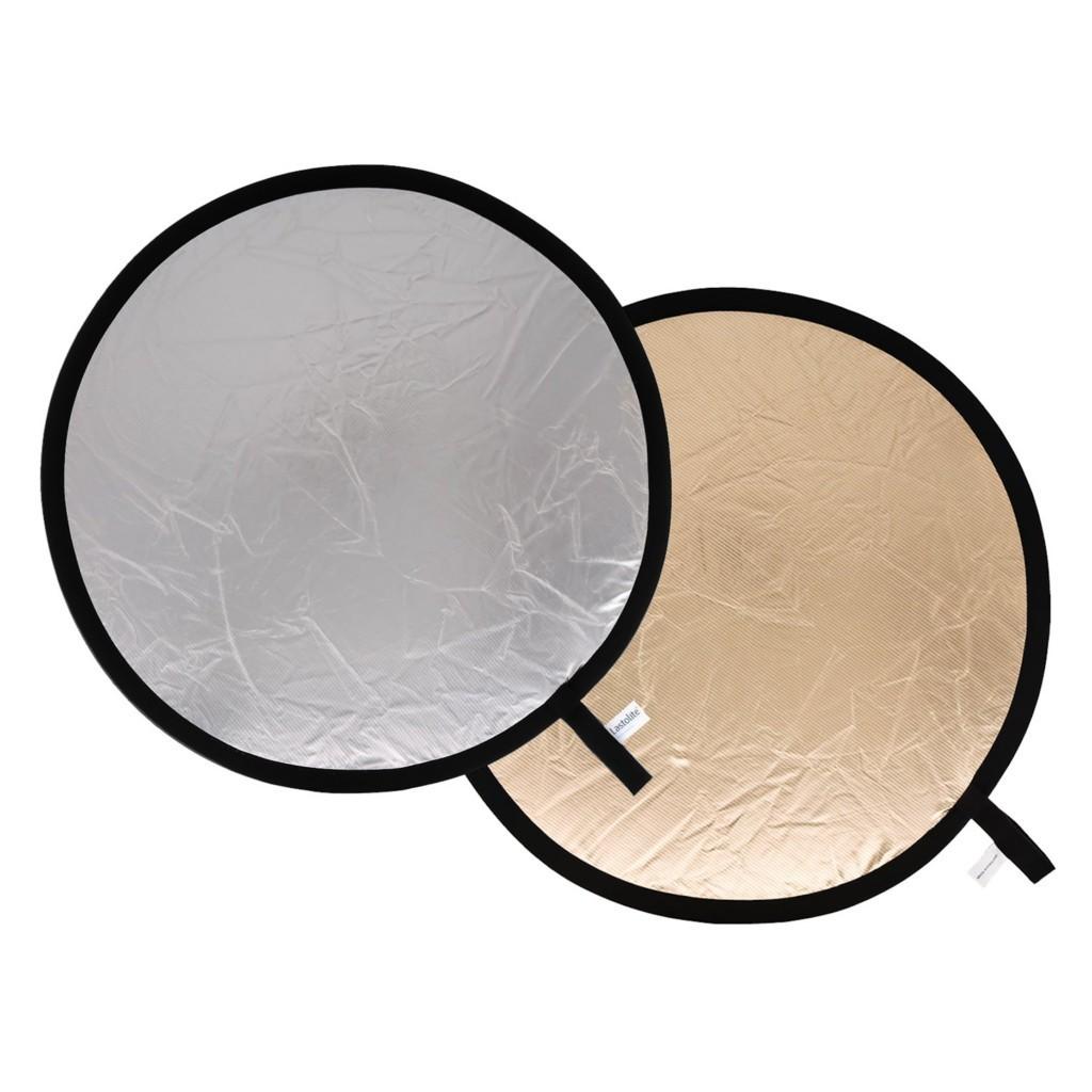 Lastolite LL LR2036 - blenda okrągła słoneczno-srebrna 50cm