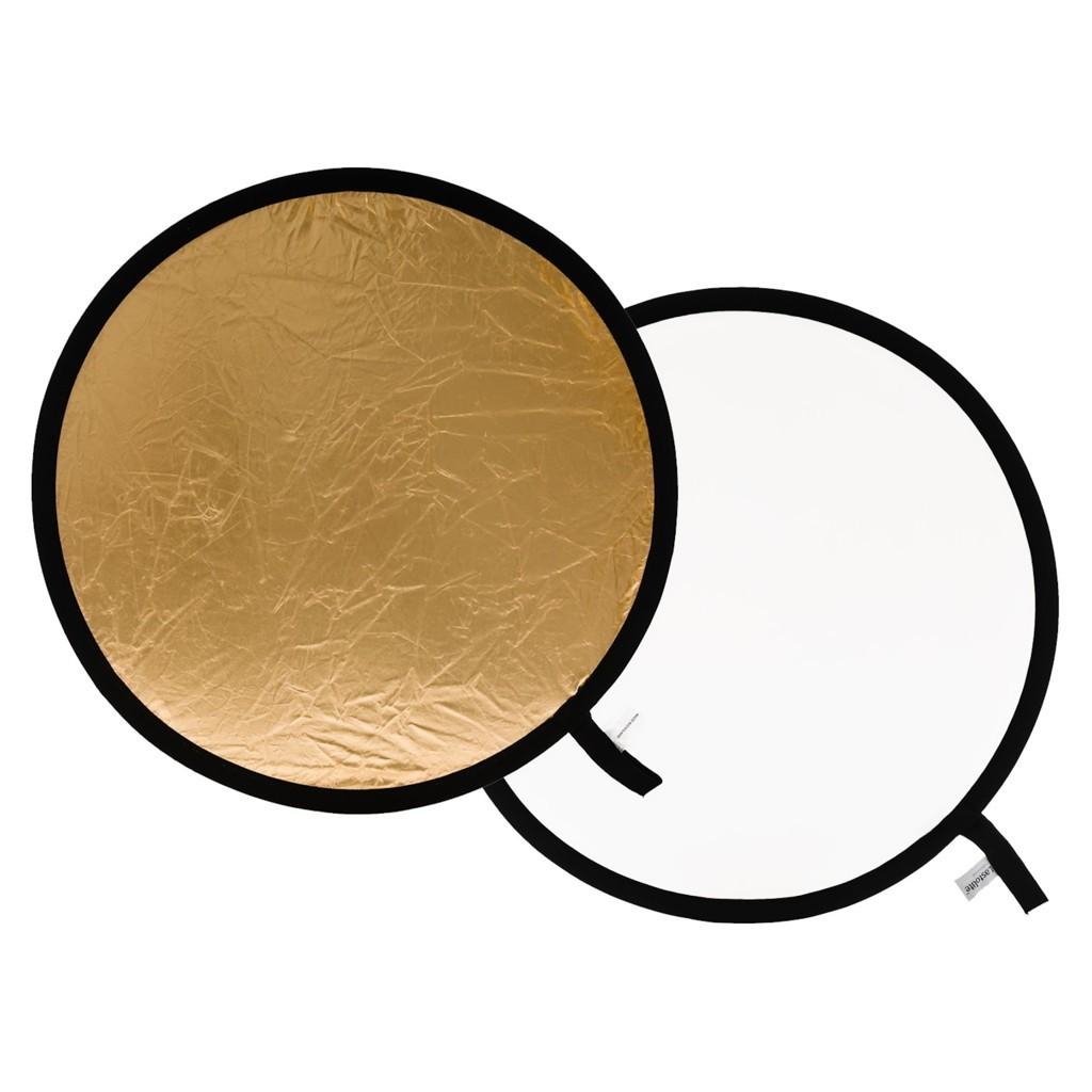 Lastolite LL LR2041 - blenda okrągła złoto-biała 50cm