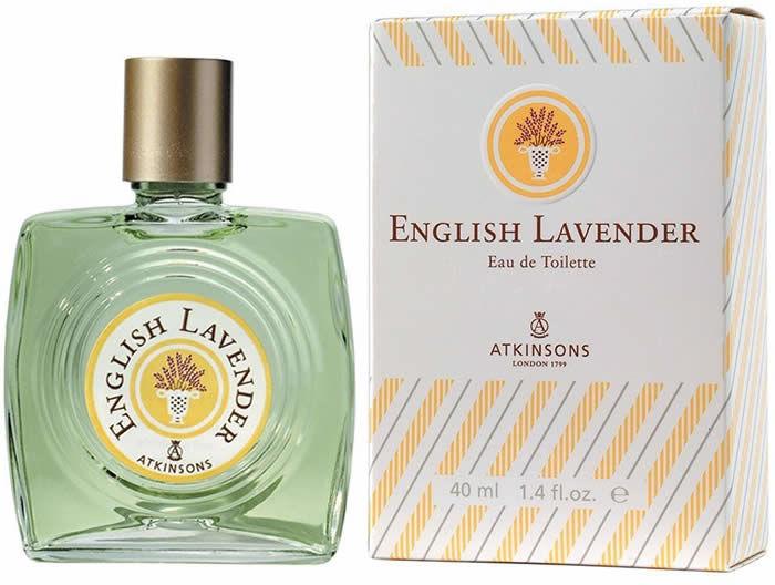 Męska woda toaletowa EDT Spray Atkinsons English Lavender 40ml