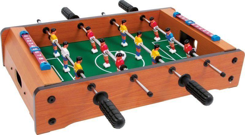 Piłkarzyki, small foot design - gry drewniane
