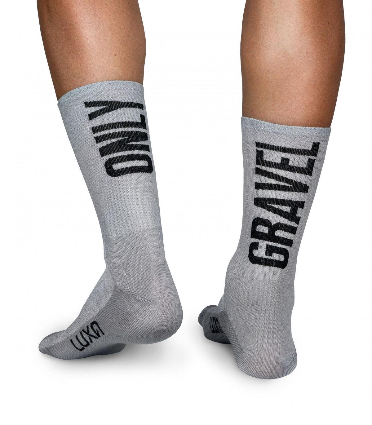 Profesjonalne skarpety kolarskie ONLY GRAVEL - wysokie