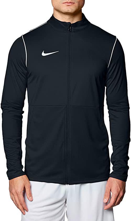 Nike M NK Dry PARK20 TRK JKT K kurtka sportowa, czarno-biała, 2XL
