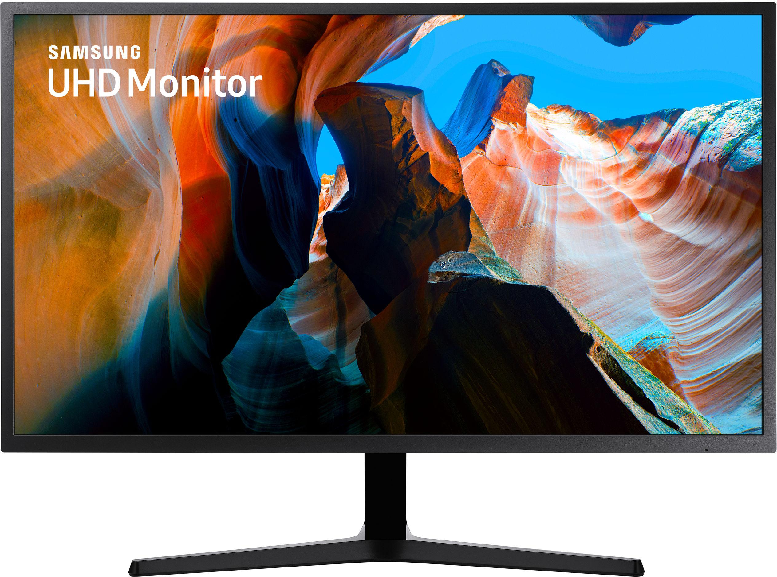 """Samsung U32J590UQR 80 cm (31.5"""") 3840 x 2160 px 4K Ultra HD LCD Czarny"""