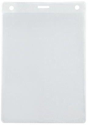 Identyfikator targowy kieszonka z elastycznej przezroczystej folii otwarta od góry Argo, 115 x 165 mm, opakowanie 50 sztuk -  Rabaty  Porady  Hurt  Autoryzowana dystrybucja  Szybka dostawa