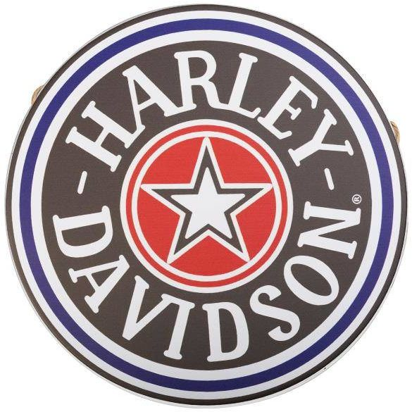 Tablica ozdobna okrągła harley hd002