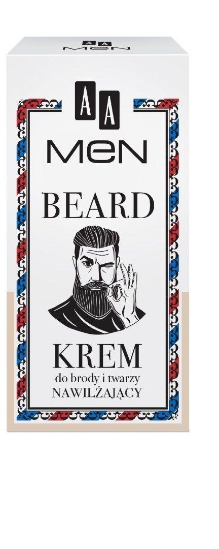 OCEANIC AA Men Beard Krem do brody i twarzy nawilżający 50ml