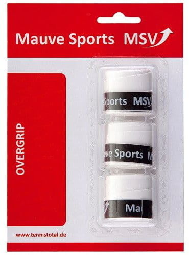 MSV MSV Overgrip Skin perforated (3szt.) - white MSV-GRIP-SKIN-WH