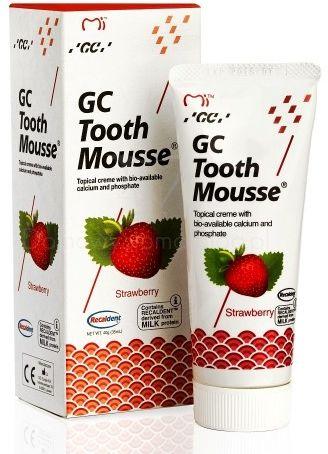 GC Tooth Mousse - Płynne szkliwo bez fluoru o smaku Truskawki 35 ml