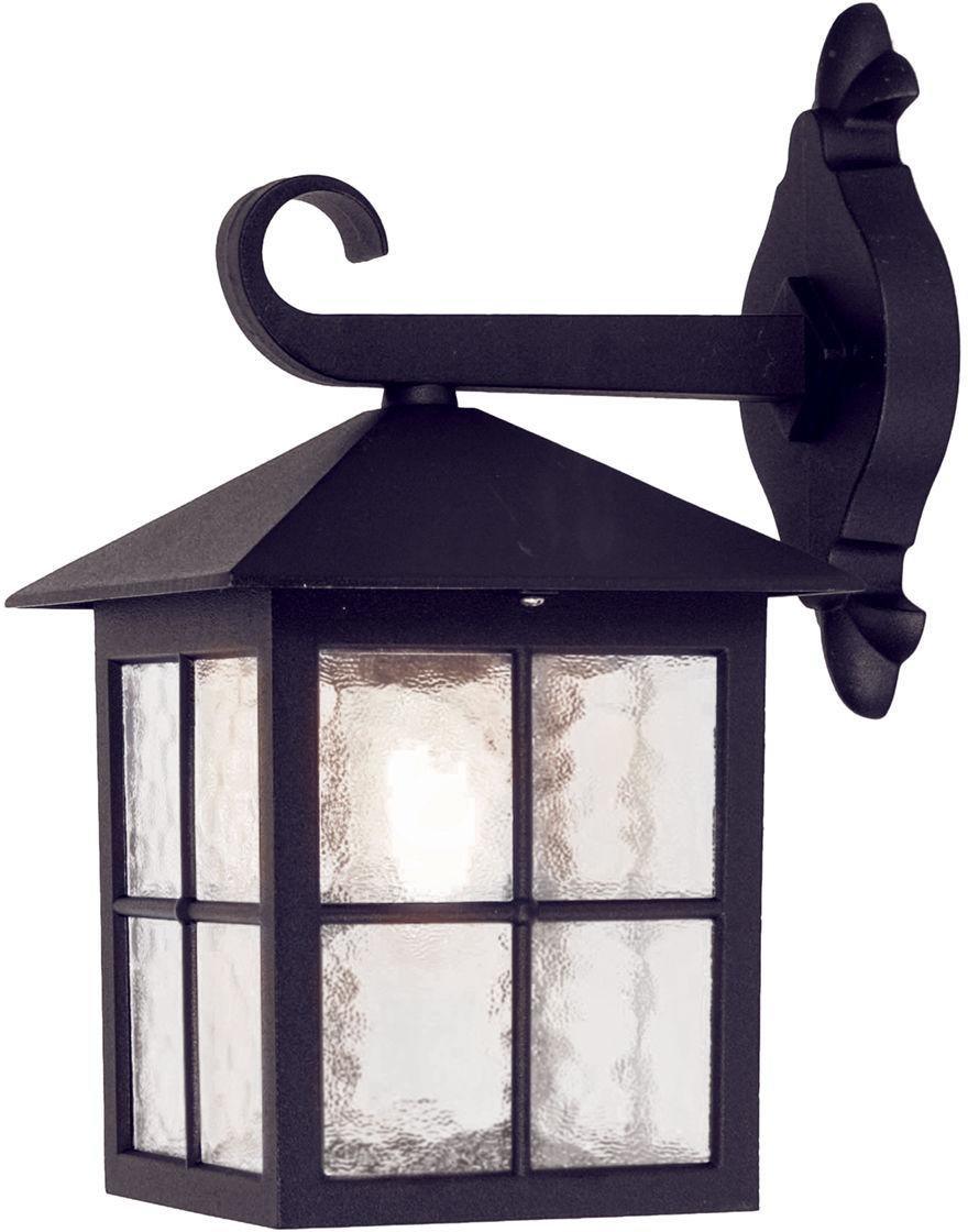 Kinkiet zewnętrzny Winchester BL18 Elstead Lighting czarna oprawa ścienna w klasycznym stylu