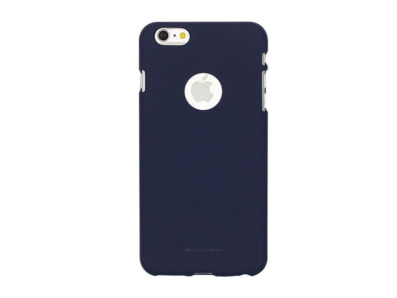 Apple iPhone 6 - etui na telefon Mercury Goospery Soft Feeling - granatowy