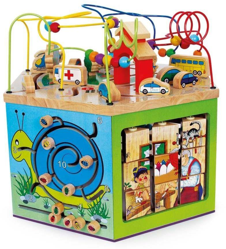 """Kostka motoryczna """"Giuliano"""", 6094-Small Foot Design, zabawki edukacyjne"""