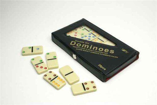 Domino kolorowe 28 sztuk ZAKŁADKA DO KSIĄŻEK GRATIS DO KAŻDEGO ZAMÓWIENIA