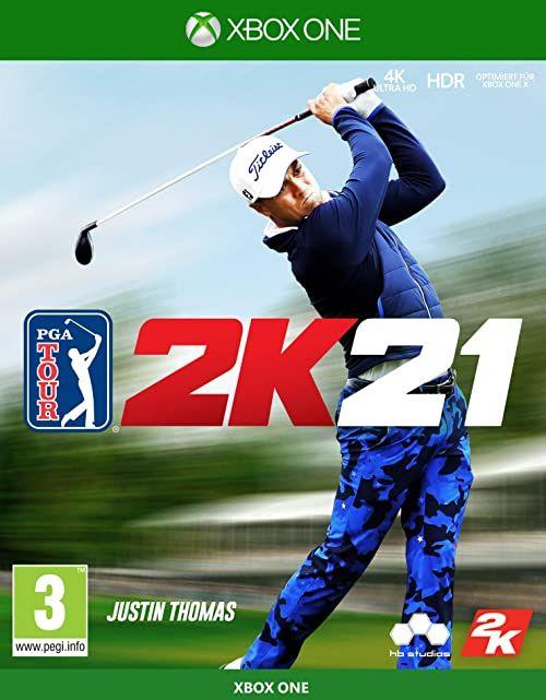 PGA TOUR 2K21 - [Xbox One][AT-PEGI]  wersja niemiecka
