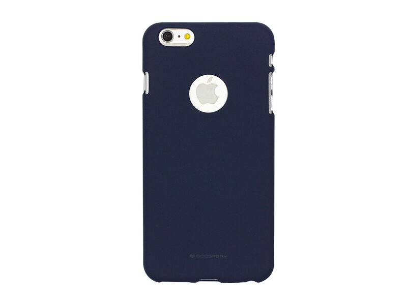 Apple iPhone 6s - etui na telefon Mercury Goospery Soft Feeling - granatowy