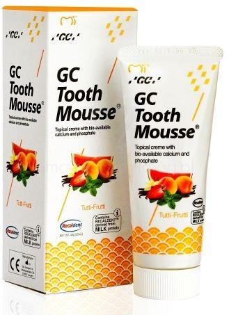 GC Tooth Mousse - Płynne szkliwo bez fluoru o smaku Tutti Frutti 35 ml