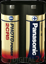 Bateria Panasonic 2CR5 DL245 KL2CR5 EL2CR5 RL2CR5