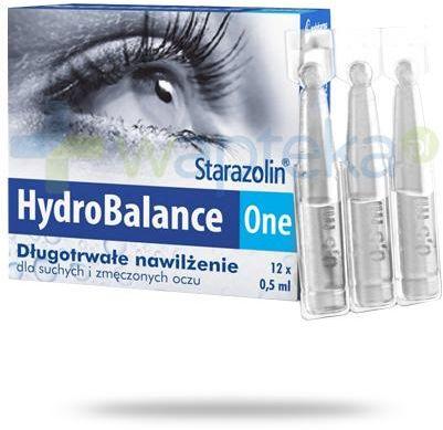Starazolin HydroBalance One krople do oczu 12x 0,5 ml