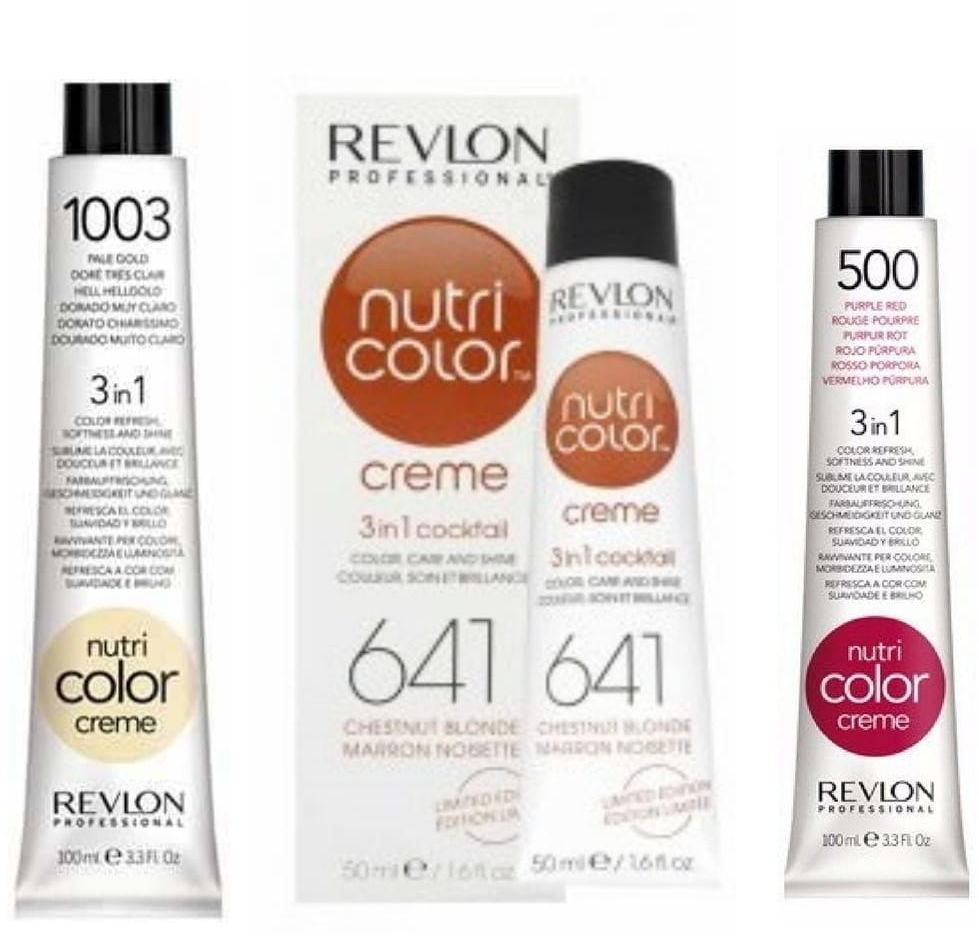 Revlon Nutri Color Creme 3in1 pielęgnujący koktajl koloryzujący 50ml