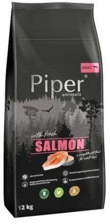 DOLINA NOTECI Piper Animals z łososiem 12kg