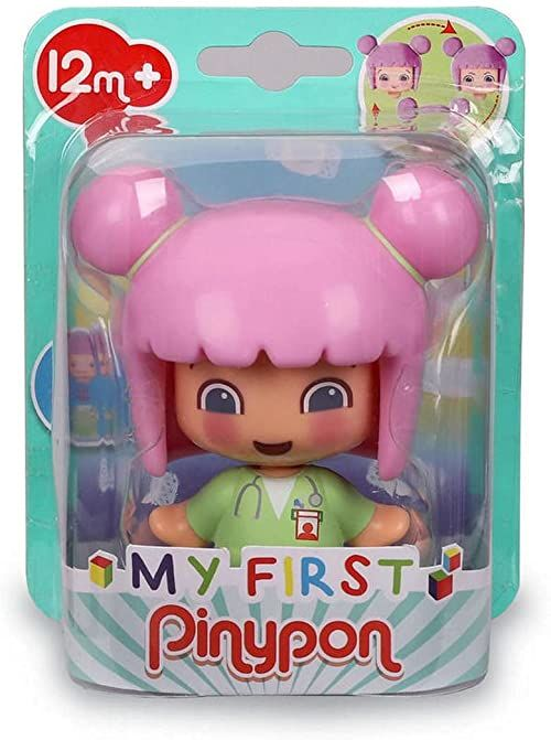 My First Pinypon - Doctor figure, educational toy for preschool children, learn professions, recommended from 1 do 3 years (Famosa 700016401)