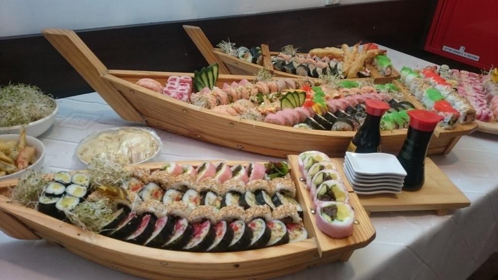 Kolacja sushi dla dwóch osób  Warszawa