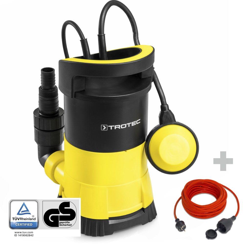 Pompa zanurzeniowa do wody czystej TWP 4005 E + Przedłużacz jakościowy 15 m / 230 V / 1,5 mm