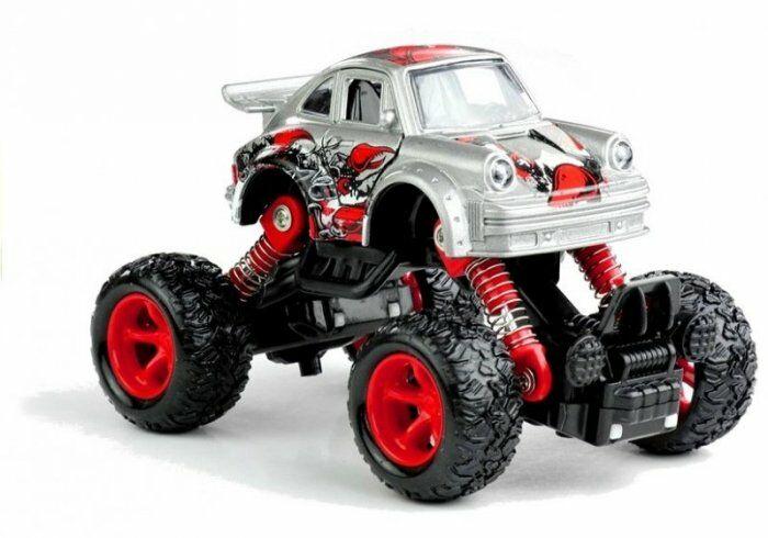 Samochodzik Monster Truck Amortyzatory Jeździ 1:36