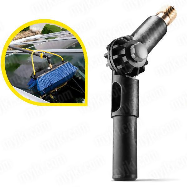 Złącze kątowe do podłączania lanc teleskopowych i szczotek, do HD/HDS, Karcher ZAPLANUJ DOSTAWĘ SKLEP SPECJALISTYCZNY KARTA 0ZŁ POBRANIE 0ZŁ ZWROT 30DNI RATY GWARANCJA D2D LEASING WEJDŹ I KUP NAJTANIEJ