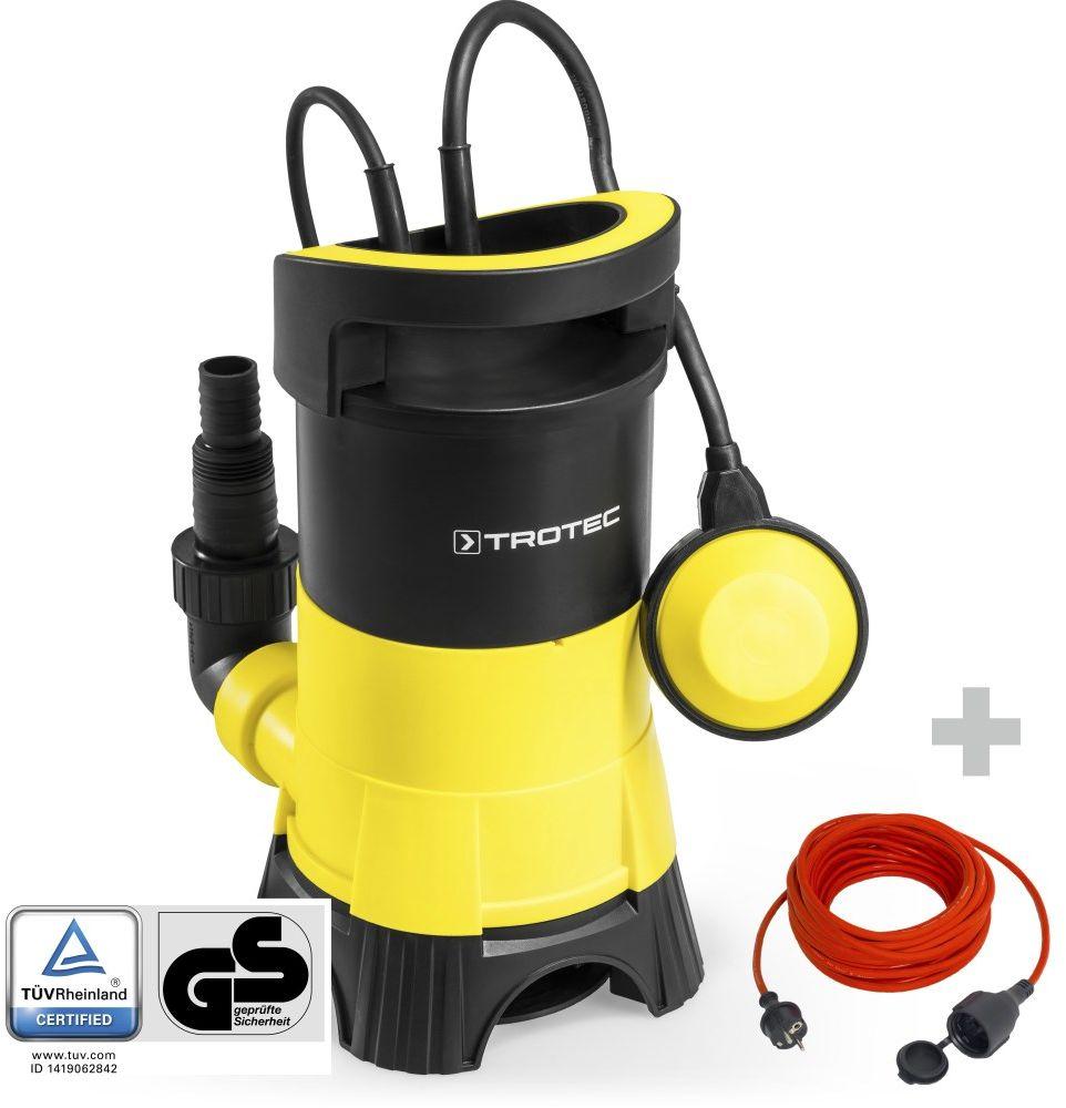 Pompa zanurzeniowa do wody brudnej TWP 4025 E + Przedłużacz jakościowy 15 m / 230 V / 1,5 mm