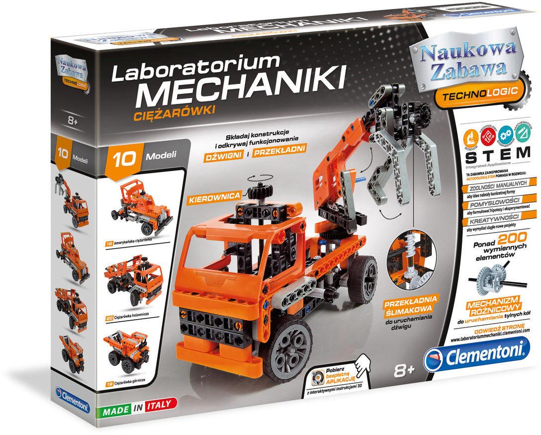 Clementoni - Laboratorium mechaniki Ciężarówki 60992