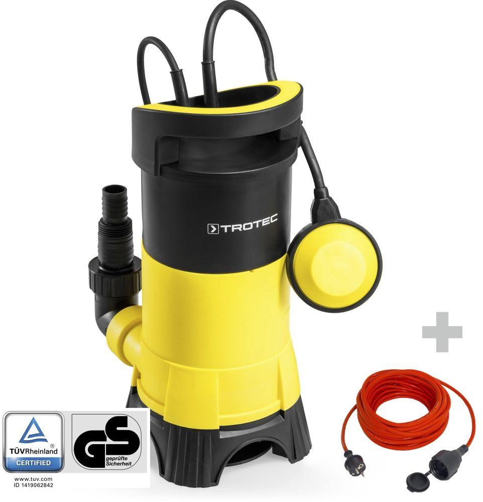 Pompa zanurzeniowa do wody brudnej TWP 7025 E + Przedłużacz jakościowy 15 m / 230 V / 1,5 mm