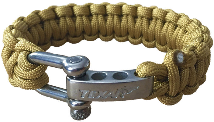 Bransoletka Paracord Texar Coyote (610#56-PARL-AC) TX