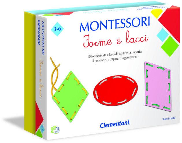 Clementoni Gra Montessori Figury i Sznurki 50079