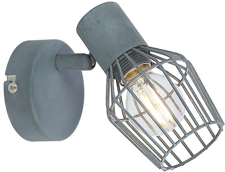 VIKING LAMPA KINKIET 1X40W E14 SZARY