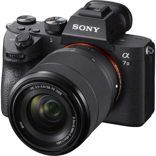 Sony A7III Kit - bezlusterkowiec z obiektywem 2870mm, ILCE-7M3K Sony A7III KIT, ILCE-7M3K