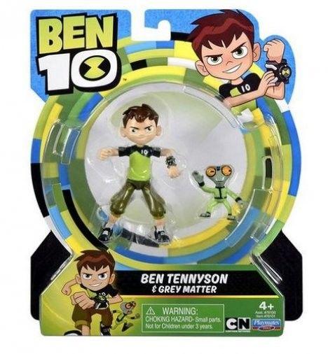 Ben 10 - Hot Shot z ognistymi kulami figurka 13 cm 76100 A