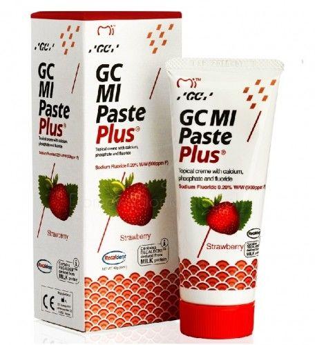 GC MI Paste Plus Truskawka - remineralizująca pasta ochronna do wrażliwych zębów 35 ml
