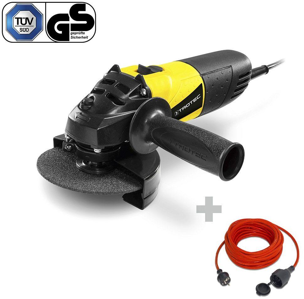 Szlifierka kątowa PAGS 10-115 + Przedłużacz jakościowy 15 m / 230 V / 1,5 mm